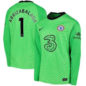 Chelsea Goalkeeper Shirt 2020-21 - Kids with Arrizabalaga 1 printing