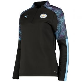 Manchester City Training Fleece - Black - Womens