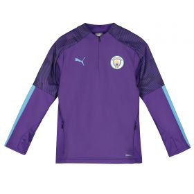 Manchester City Training Fleece - Purple - Kids