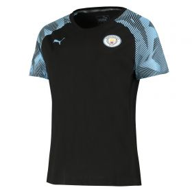 Manchester City Casuals T-Shirt - Black - Womens