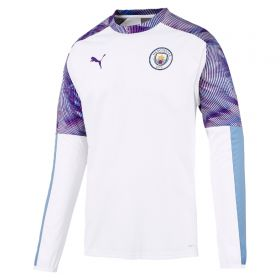 Manchester City Training Rain Top - White