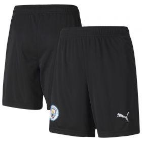 Manchester City Home Goalkeeper Shorts 2020-21 - Kids