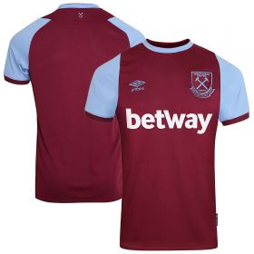 West Ham United Home Jersey 20-21 - Short Sleeve