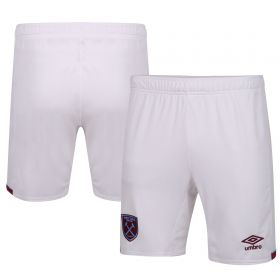 West Ham United Home Short 20-21 - Junior