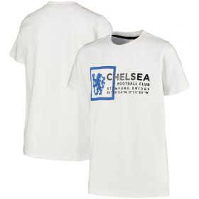 Chelsea Graphic T-Shirt - White - Boys