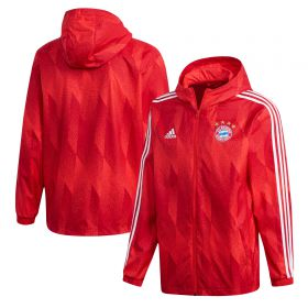 FC Bayern Windbreaker Jacket - Red