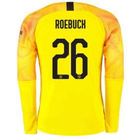 Manchester City Cup Third Goalkeeper Shirt 2019-20 with Roebuck 26 printing