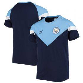Manchester City MCS Tee - Navy - Kids