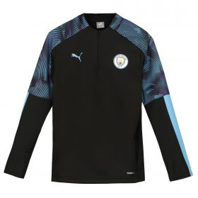 Manchester City Training Fleece - Black - Kids