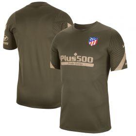 Atlético de Madrid Strike TrainingT-Shirt - Khaki