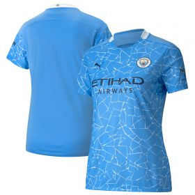 Manchester City Authentic Home Shirt 2020-21 - Womens