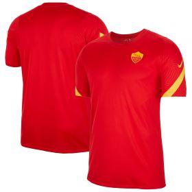 AS Roma Strike Training T-Shirt - Red