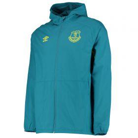 Everton Training Shower Jacket - Blue