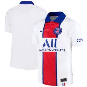 Paris Saint-Germain Away Stadium Shirt 2020-21 - Kids with Di Maria 11 printing