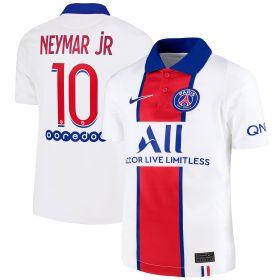 Paris Saint-Germain Away Stadium Shirt 2020-21 - Kids with Neymar Jr 10 printing