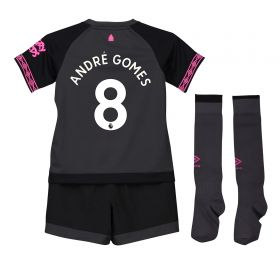 Everton Away Infant Kit 2018-19 with André Gomes 8 printing