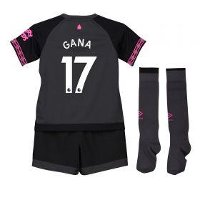 Everton Away Infant Kit 2018-19 with Gana 17 printing