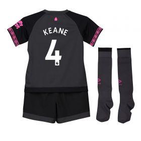 Everton Away Infant Kit 2018-19 with Keane 4 printing