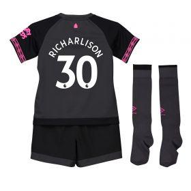 Everton Away Infant Kit 2018-19 with Richarlison 30 printing