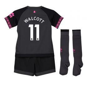 Everton Away Infant Kit 2018-19 with Walcott 11 printing
