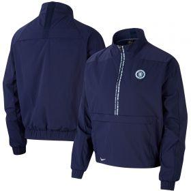 Chelsea Half Zip Jacket - Navy - Womens