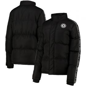 Chelsea Soft Touch Wadded Jacket - Black - Womens