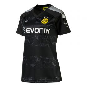 BVB Away Shirt 2019-20 - Womens with Haaland 17 printing