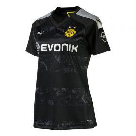 BVB Away Shirt 2019-20 - Womens with Haaland 17 printing