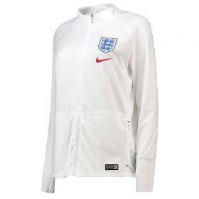 England Anthem Squad Jacket - White - Womens