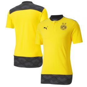 Borussia Dortmund Casuals Polo - Yellow