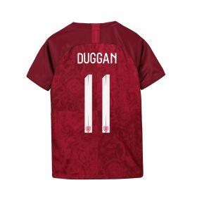 England Away Stadium Shirt 2019-20 - Kids with Duggan 11 printing
