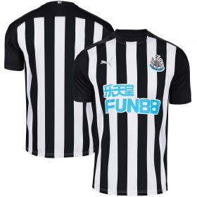Newcastle United Home Shirt 2020-21 with Atsu 30 printing