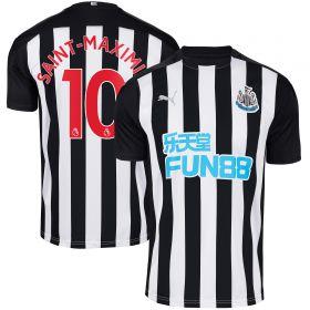 Newcastle United Home Shirt 2020-21 with Saint-Maximin 10 printing