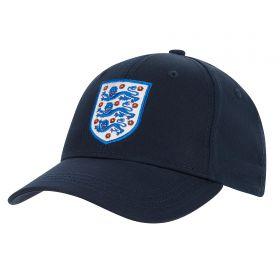 England Core Cap - Navy - Junior