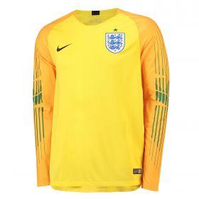England Goalkeeper Stadium Shirt 2018 with Pickford 1 printing