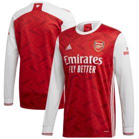 Arsenal Home Shirt 2020-21 - Long Sleeve with Saka 7 printing