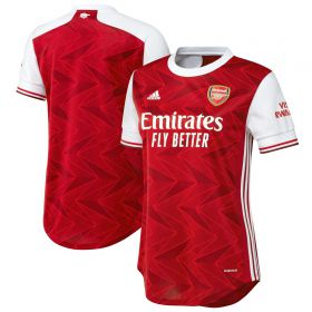 Arsenal Home Shirt 2020-21 - Womens with David Luiz 23 printing