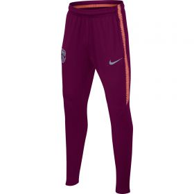 Barcelona Squad Training Pant - Maroon - Kids