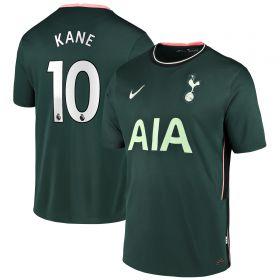 Tottenham Hotspur Away Stadium Shirt 2020-21 - Kids with Kane 10 printing