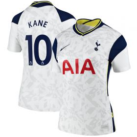 Tottenham Hotspur Home Stadium Shirt 2020-21 - Womens with Kane 10 printing