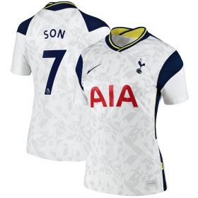 Tottenham Hotspur Home Stadium Shirt 2020-21 - Womens with Son 7 printing