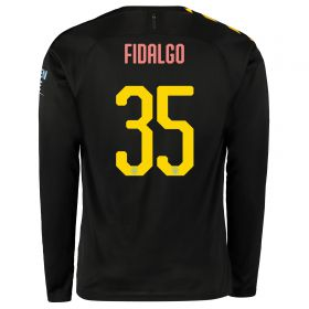 Manchester City Cup Away Shirt 2019-20 - Long Sleeve with FIDALGO 35 printing