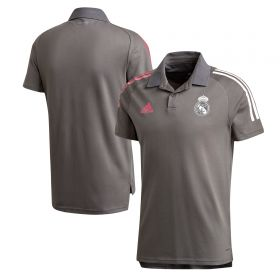 Real Madrid Training Polo - Grey