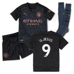 Manchester City Away Minikit 2020-21 with G.Jesus 9 printing