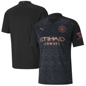 Manchester City Away Shirt 2020-21 with Foden 47 printing