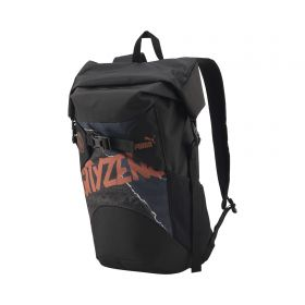 Manchester City Roll Top Backpack - Dark Grey