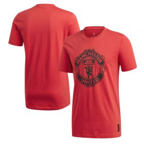 Manchester United DNA Graphic T-Shirt - Red