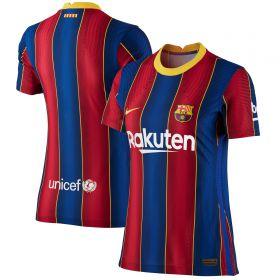 Barcelona Home Vapor Match Shirt 2020-21 - Womens with Piqué 3 printing