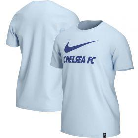 Chelsea Printed T-Shirt - Sky Blue