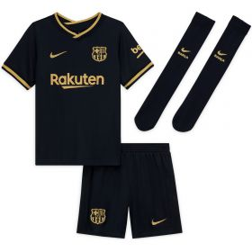 Barcelona Away Stadium Kit 2020-21 - Kids